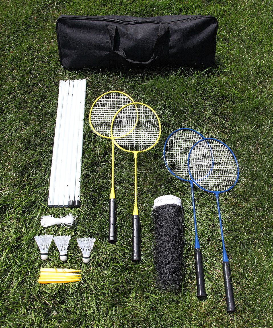 look at this zulilyfind classic badminton set by driveway games