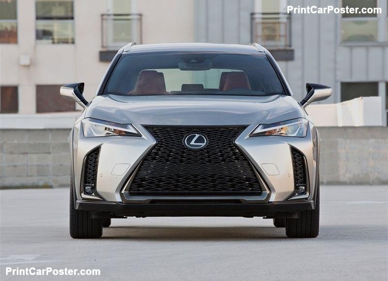 Lexus Ux 2019 Poster