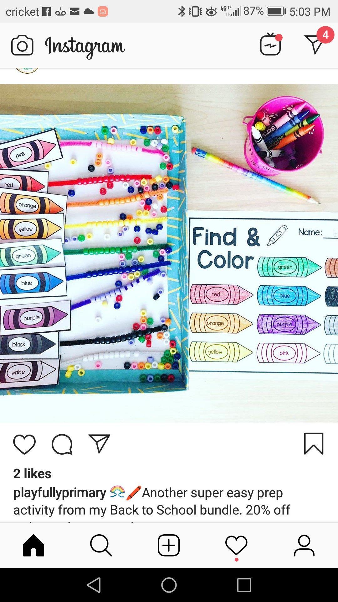 Pin By Liz Moffett On Bucket School Teaching Color Words