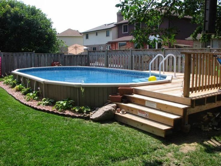 I like the best way the pool is edged with stones and gravel -   14 garden design Pool decks ideas