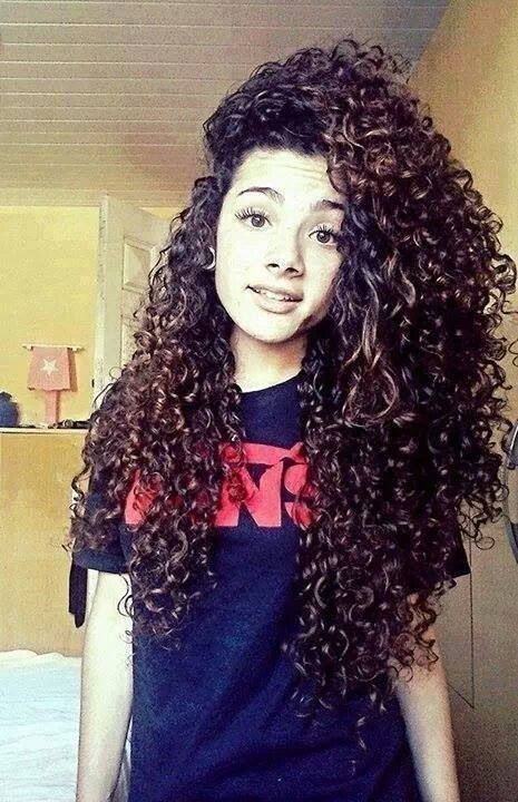 Her Hair Is Perfect Hair Curly Hair Styles Hair Long Curly Hair