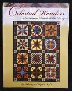 Celestial Wonders, Foundation Pieced Stellar Designs, Schwartz, Liz; and Seifert, Stephen