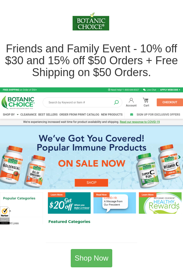 Best Deals And Coupons For Botanic Choice In 2020 Family Events Botanical At Home Workouts