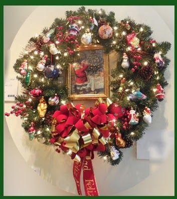 Ana Silk Flowers Christmas Wreath Ideas Anasilkflowers, Silk - christmas wreath decorations