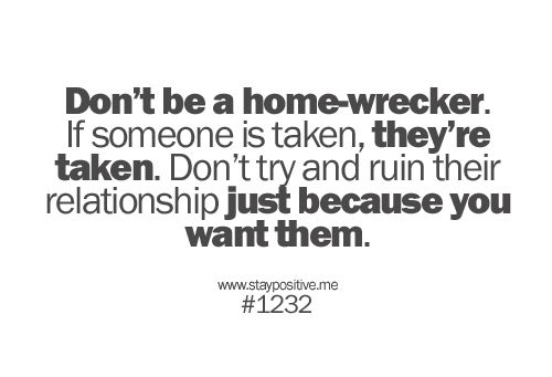 If he's taken, let him be taken  Leave him alone  | quotes