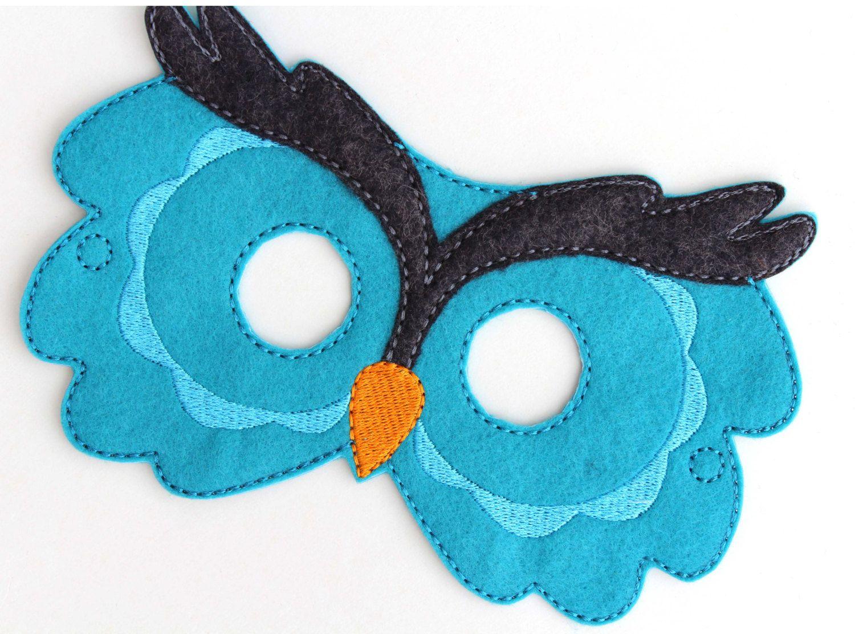 Festa corujinhas owls birthday party ideas m scara de - Disfraces de buhos ...