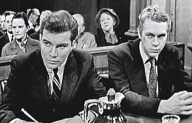 For The People Tv Show Images William Shatner And Steve Mcqueen