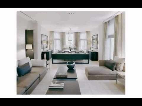 Mini Wohnzimmer ~ Schiebe gardine fürs wohnzimmer in braun und beige mit