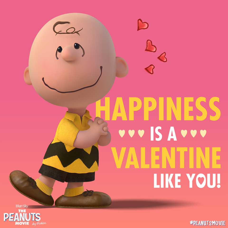 Happiness Is A Valentine Like You Snoopymania – Charlie Brown Valentine Cards