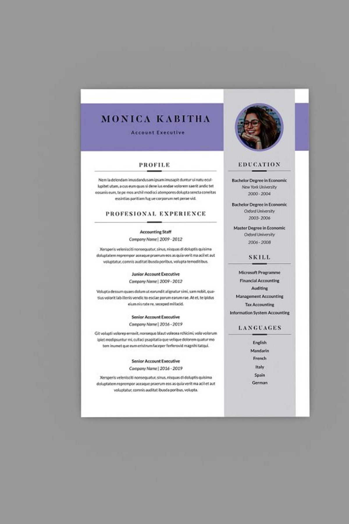 Caliber CV Resume Designer Resume words skills, Good