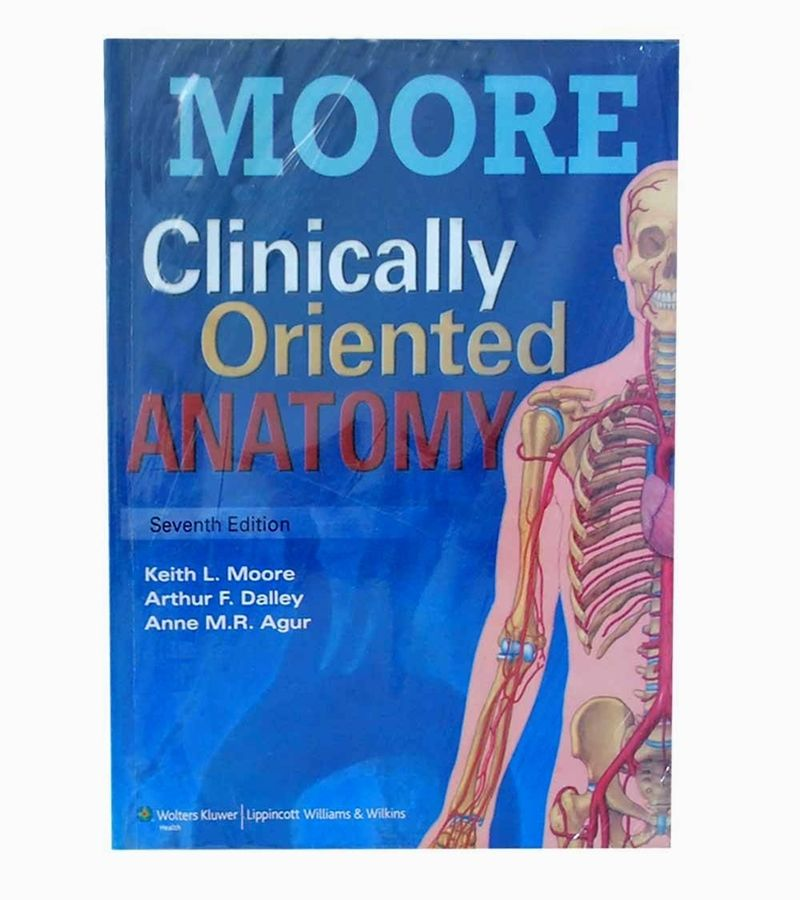Get international Books Moore Clinically Oriented Anatomy 7th ...