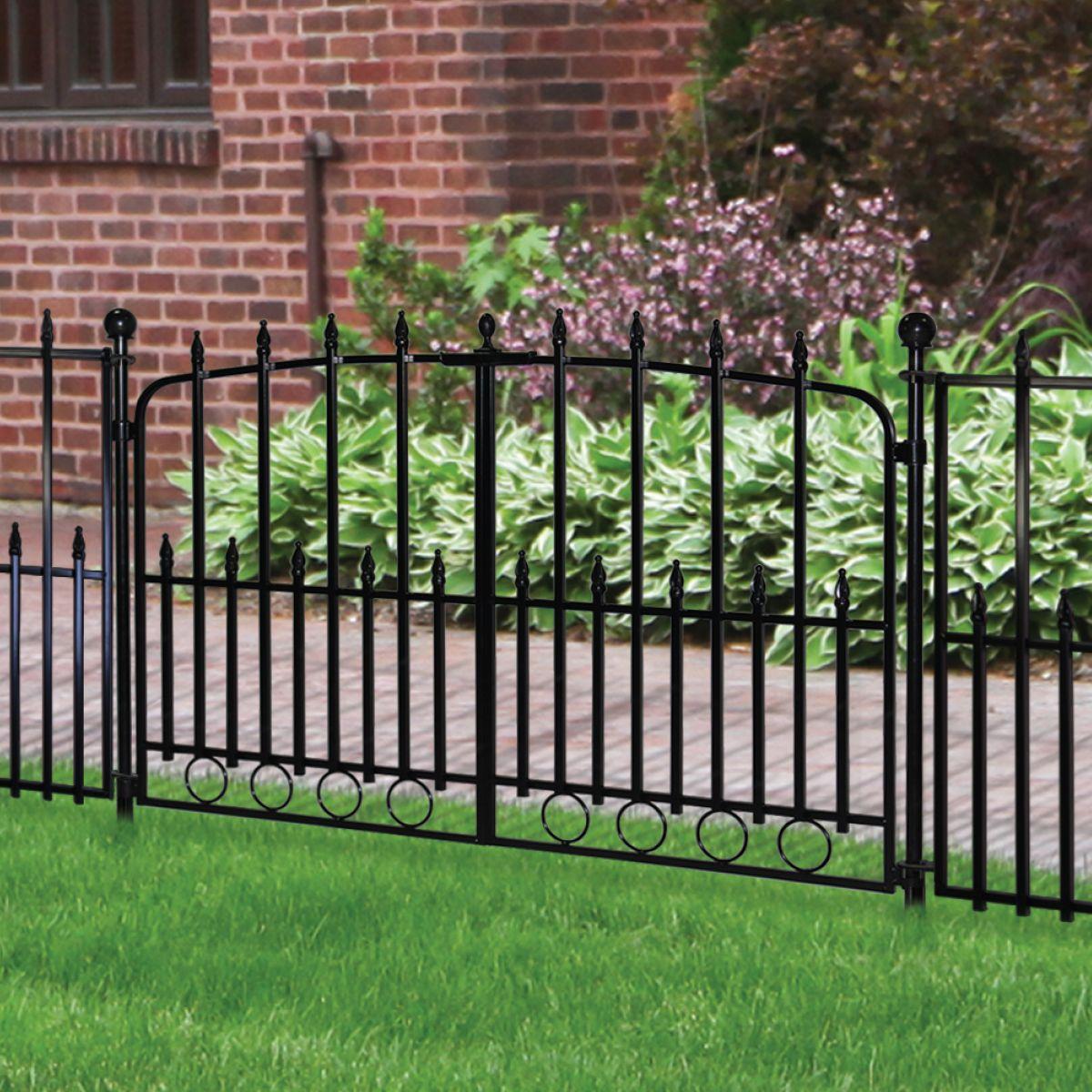 Empire Fences Residential Fencing Aluminum Fence Systems Garden Fencing Outdoor Decor