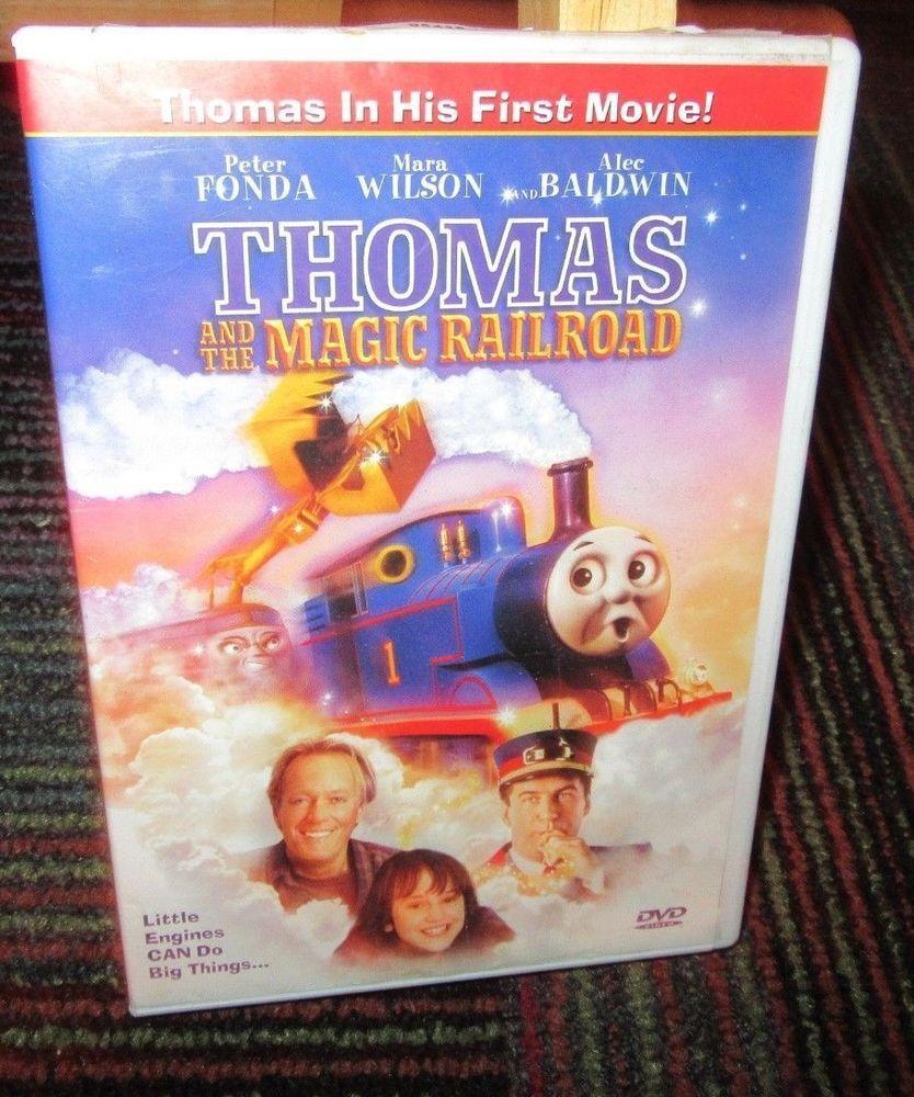 THOMAS THE TANK ENGINE: THOMAS AND THE MAGIC RAILROAD DVD