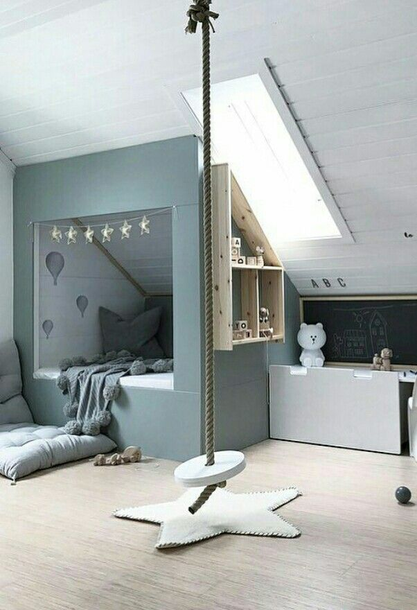 You 39 ll find this children room design the most fun d co for Kinderzimmer einrichten kleinkind