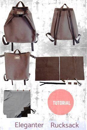 Olivia Twist – Instrucciones de costura: elegante mochila convertible – Tutorial para …