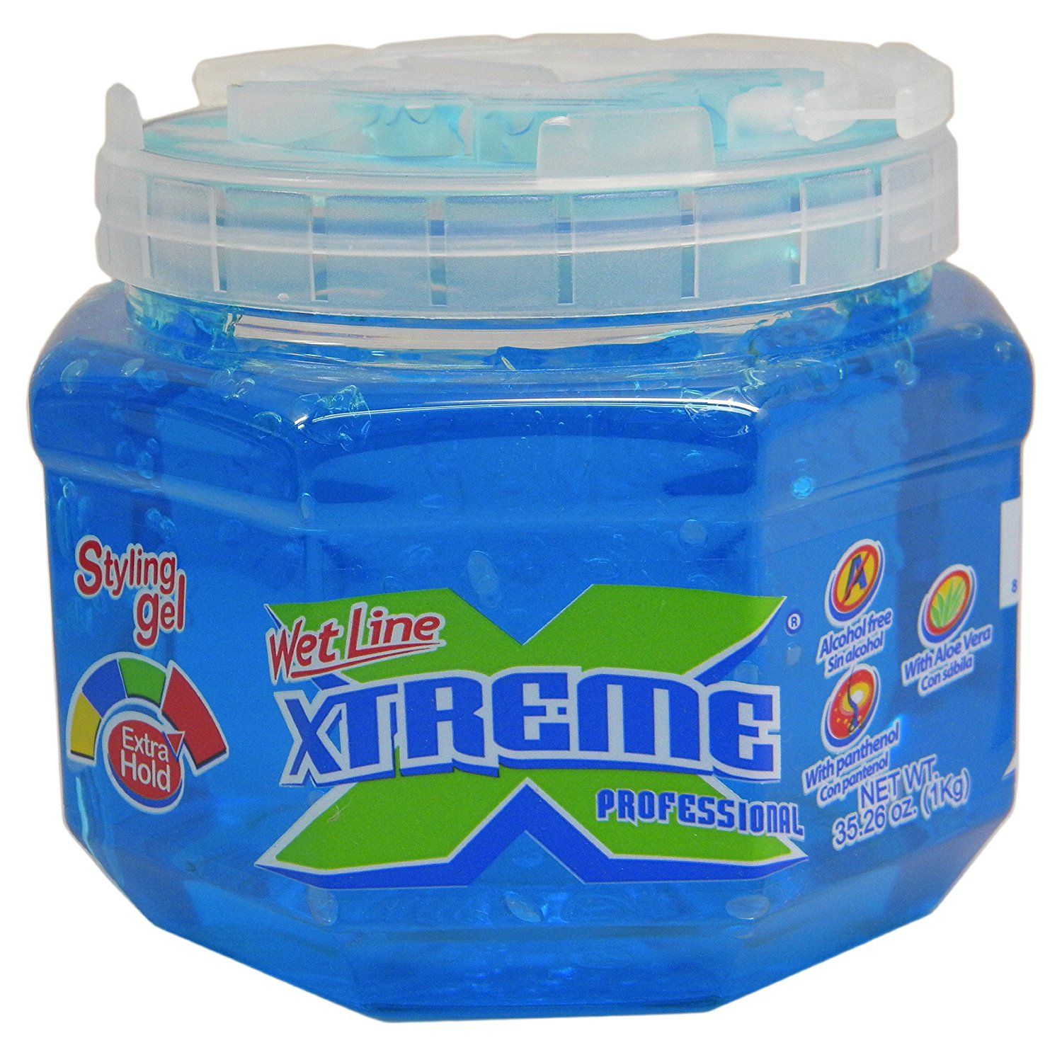 Xtreme Professional Wet Line Styling Gel Extra Hold Blue