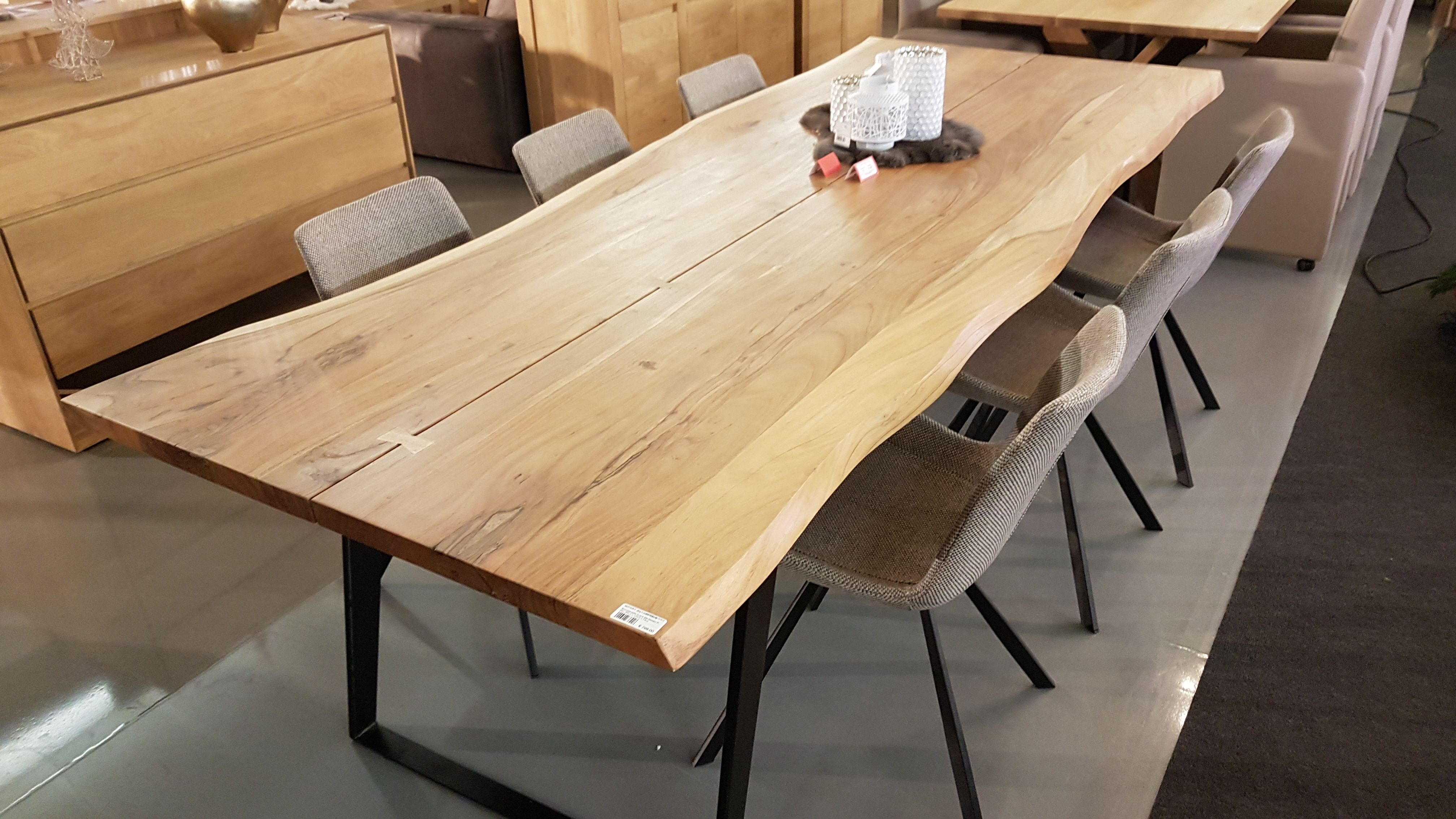 Trunk Table 260 L Eettafel Interieur Houten Tafel