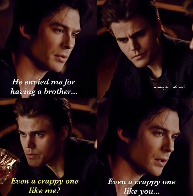 Damon and caroline moments with the book