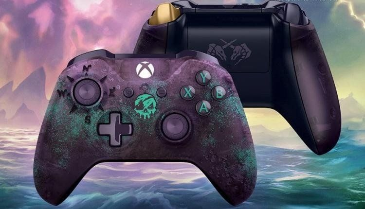 Sea Of Thieves Gets A Nifty Exclusive Xbox One Controller Xbox One Controller Sea Of Thieves Xbox One