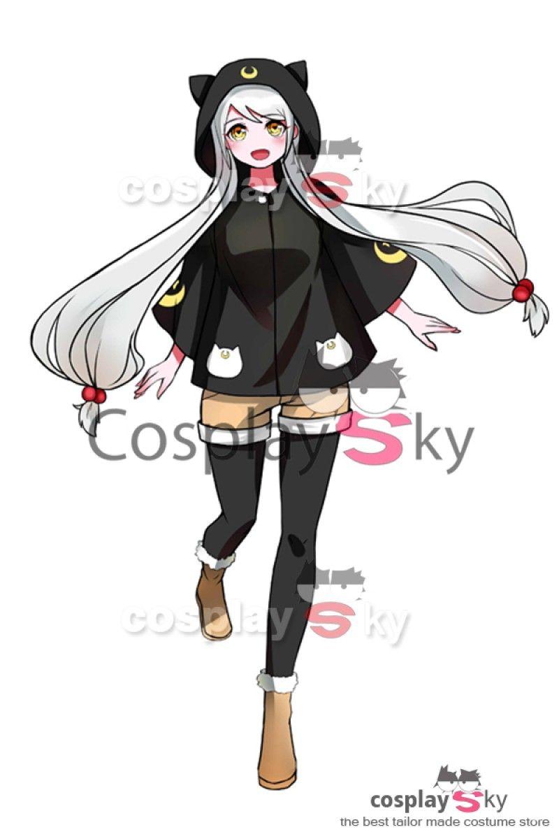 Sailor Moon Luna Capa Toga Cosplay Disfraz  cosplaysky  disfraz  anime   cosplay 3f2c9b8bc3f4