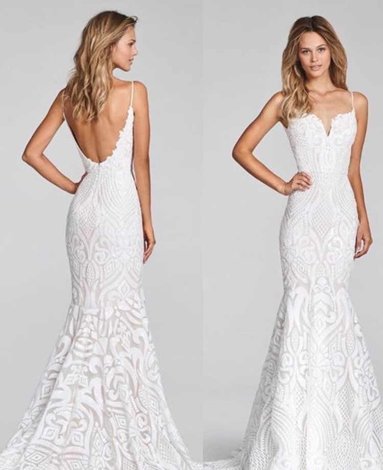 Hayley Paige West Gown Wedding Dress