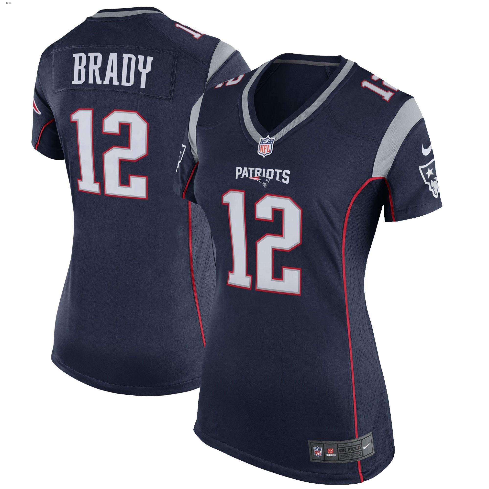 Tom Brady New England Patriots Nike Women S Game Jersey Navy Blue In 2020 New England Patriots Game England Patriots New England Patriots