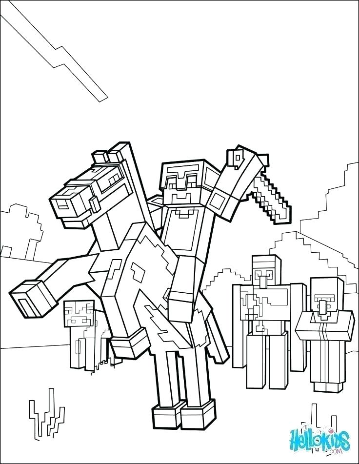 Coloring Pages For Minecraft Coloring Pages Games Colouring Minecraft Coloring Pages Steve W Minecraft Coloring Pages Horse Coloring Pages Minecraft Printables