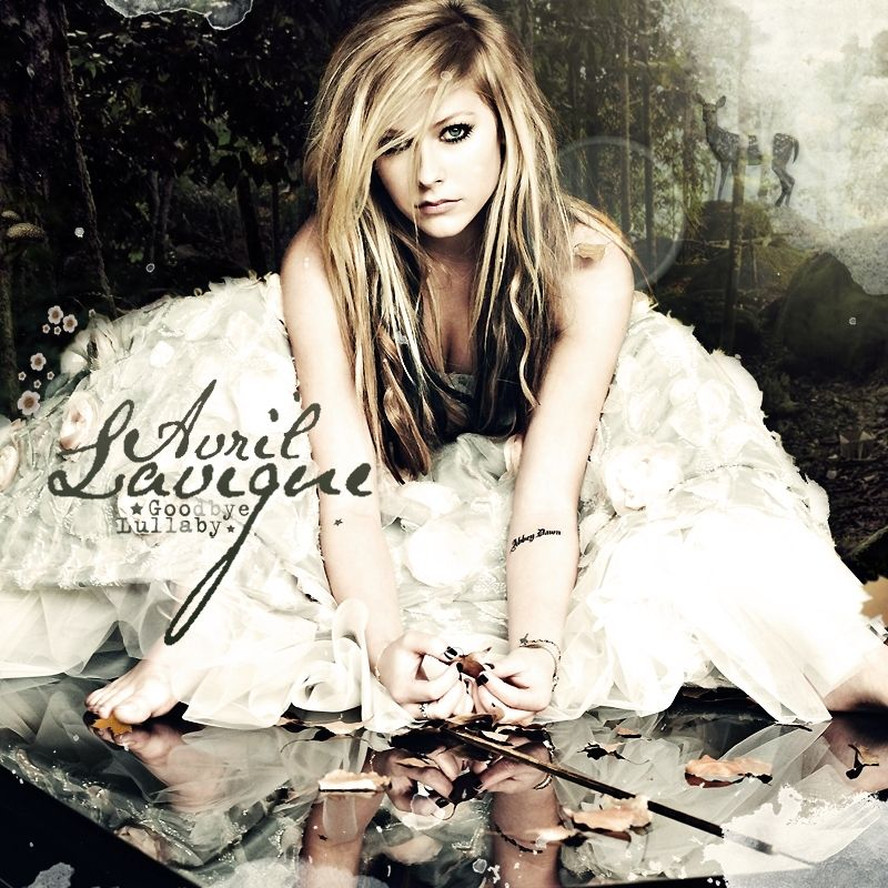 Avril Lavigne Fan Art Goodbye Lullaby Fanmade Album Cover Avril Lavigne Goodbye Lullaby Avril Lavigne Goodbye Lullaby