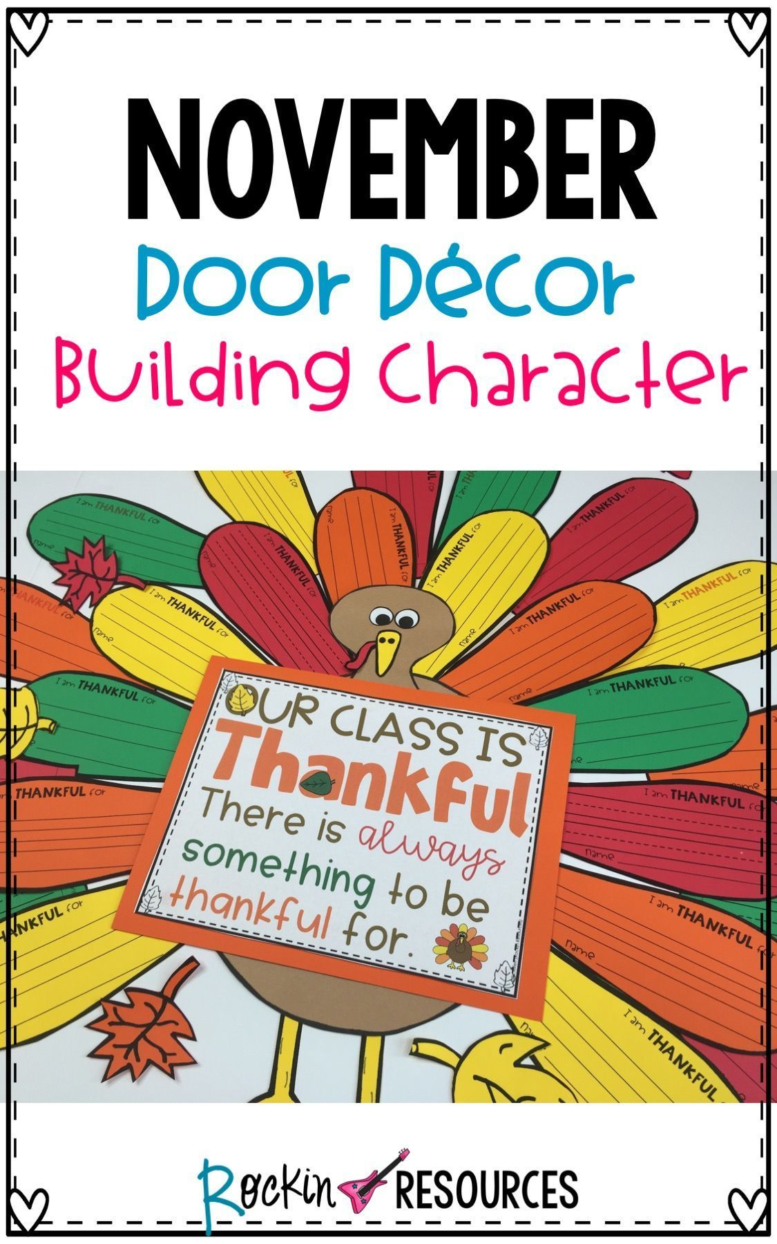 November Bulletin Board Thankful Door Decor Thanksgiving Bulletin Board #novemberbulletinboards This November door decor also makes a great Thanksgiving bulletin board and Thanksgiving activity with your class. Build good character! #novemberbulletinboards November Bulletin Board Thankful Door Decor Thanksgiving Bulletin Board #novemberbulletinboards This November door decor also makes a great Thanksgiving bulletin board and Thanksgiving activity with your class. Build good character! #novemberbulletinboards