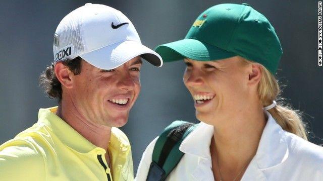 Rory Mcilroy Announces Engagement To Caroline Wozniacki On Social Media Cnn Rory Mcilroy Rory Mcllroy Caroline Wozniacki