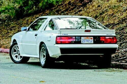 Mitsubishi Starion Turbo Gsx Chrysler Conquest Mitsubishi