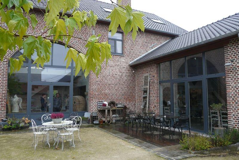 weekend en belgique fermette pinterest grange maison et fa ade maison. Black Bedroom Furniture Sets. Home Design Ideas