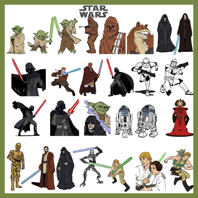 photo regarding Printable Star Wars Characters known as Star Wars Little ones Star wars people photos, Star wars