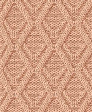 Красивые простые узоры спицами со схемами фото 250