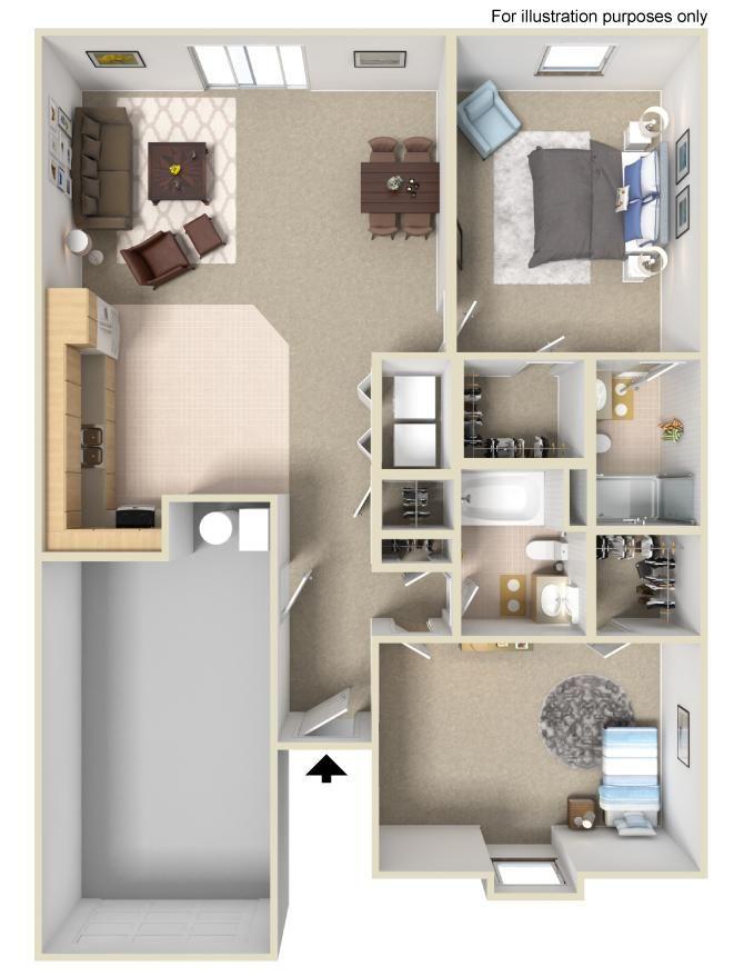 The Diamond 2 Bedrooms 2 Bathrooms 1 077 Sq Ft Apartment Communities Apartments For Rent Apartment