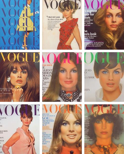 newenglandwoodstock: 39 Jean Shrimpton Vogue covers