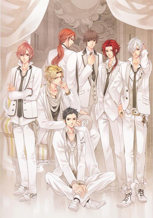 Futo, Kaname, Subaru, Hikaru, Masaomi, Yusuke & Tsubaki~
