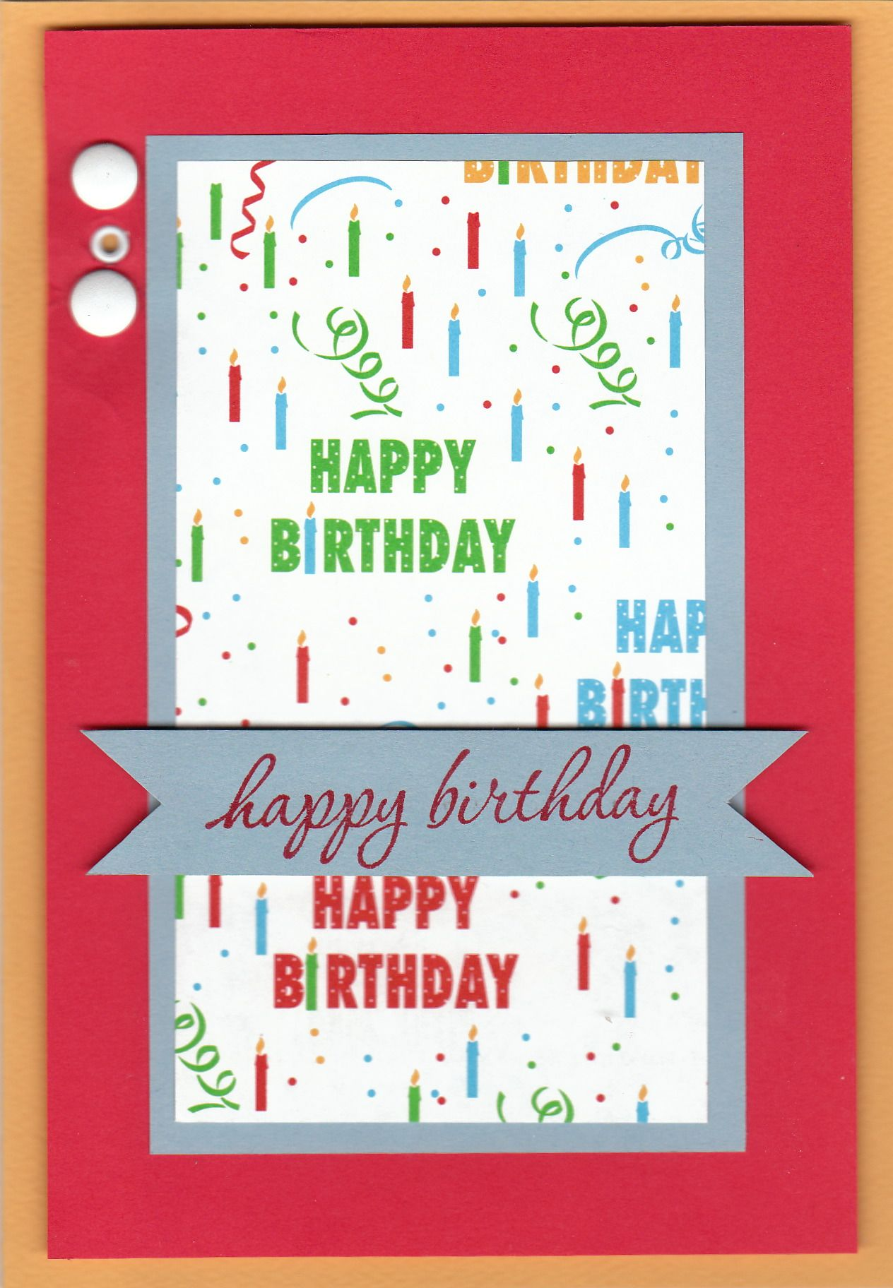 Birthday Card For Uncle Scrapbook Birthday Cards Pinterest