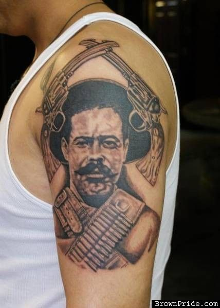 Pancho villa represents the revolutionary struggle of the for Pancho villa tattoo