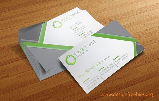 Free Vector Business Card Design Templates – 2014 Vol. 1 | Free ...