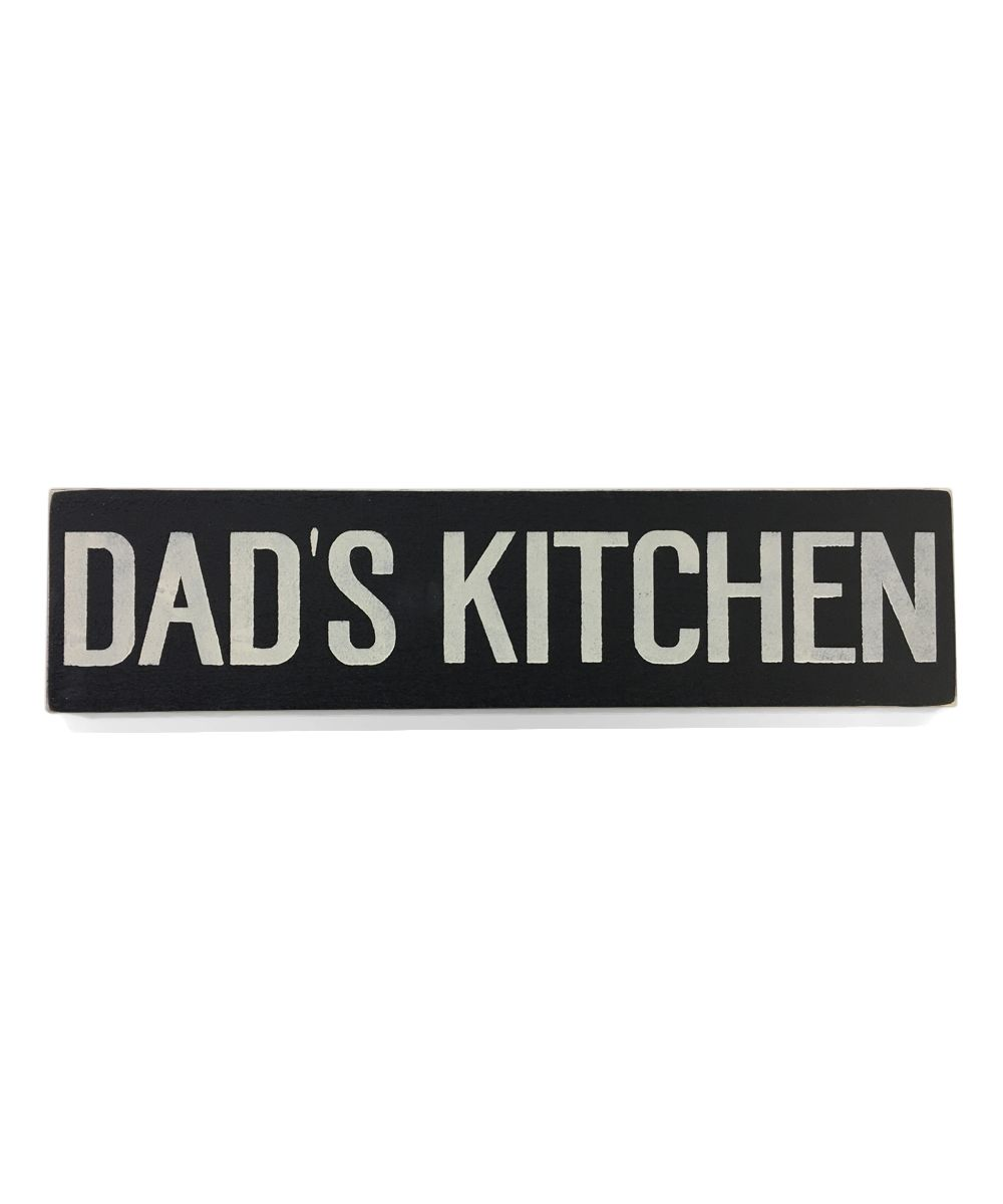 Dad's Kitchen' Wall Art | Dads, Kitchen walls and Wall art