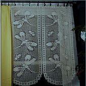 Ravelry: Dragonfly Curtain in Filet Crochet pattern by Hartmut Hass