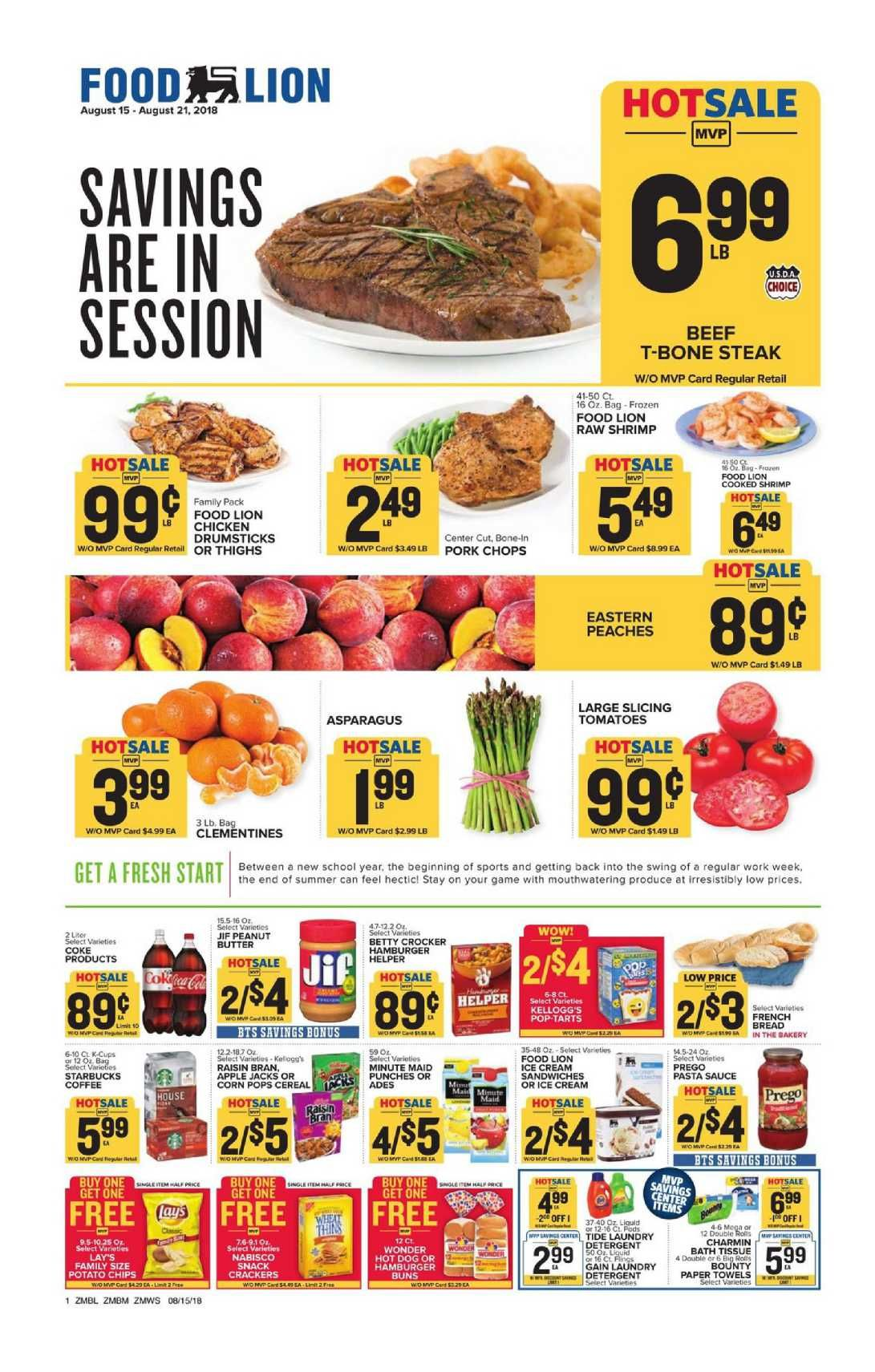 Food Lion Weekly Ad Flyer January 9 15 2019 Weekly Ad Circulars
