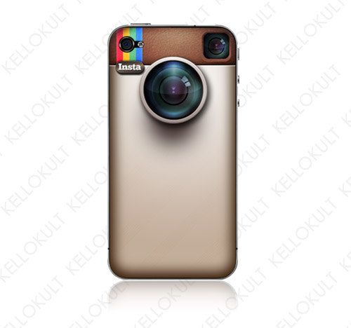 And iPhone Skin for Instagram Lovers