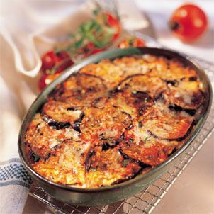 Garden-Style #Eggplant Parmesan