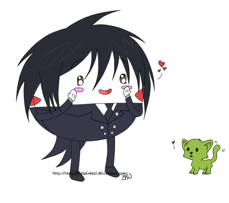 Kuroshitsuji Sebastian As Peppermint Butler Adventure Time