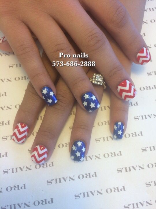 Nails for 4th of July