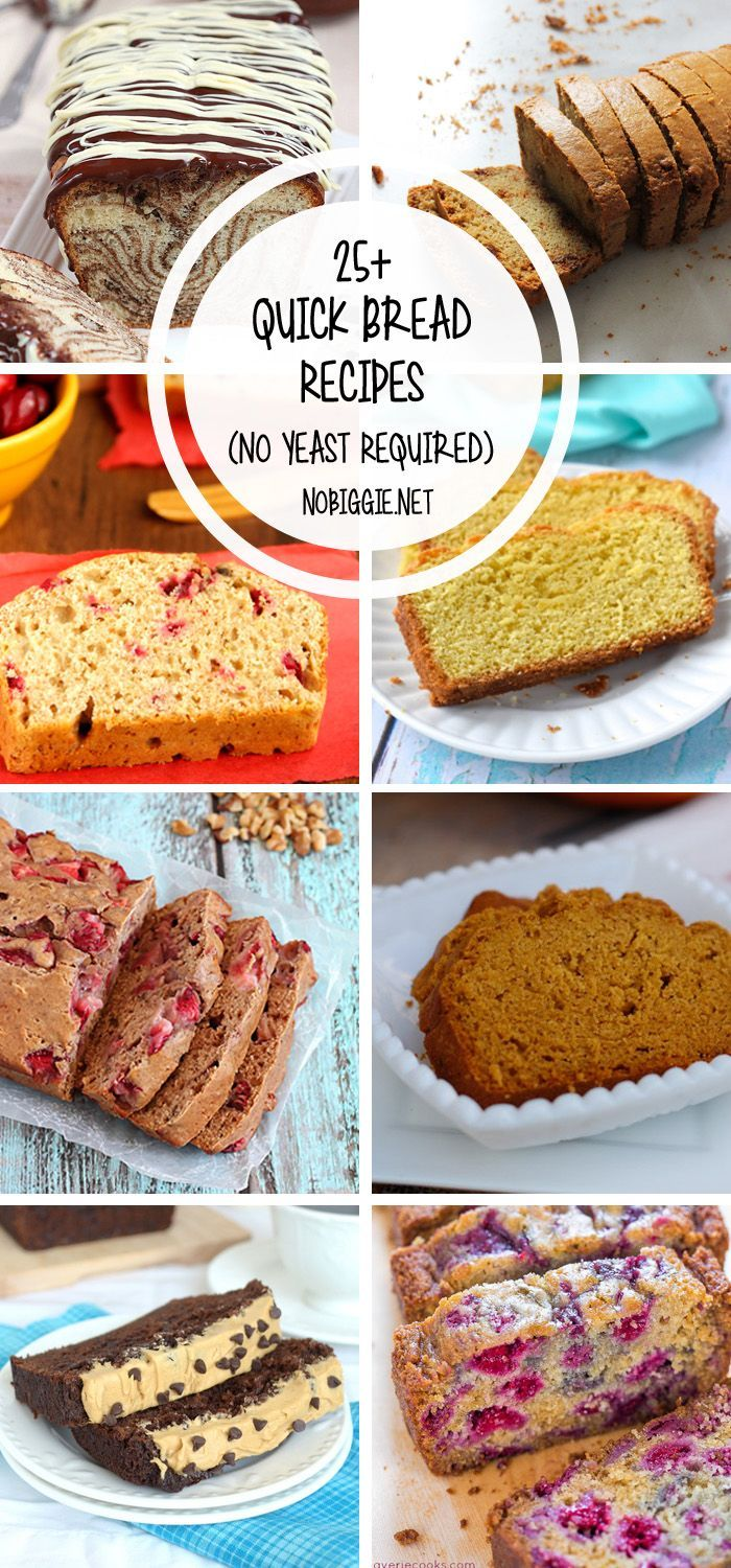 25+ Quick Bread Recipes (No Yeast Required) images