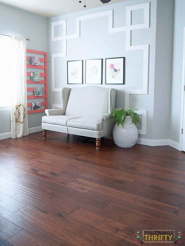 home legend barrett distressed hickory from the home depot - Distressed Living Room 2016