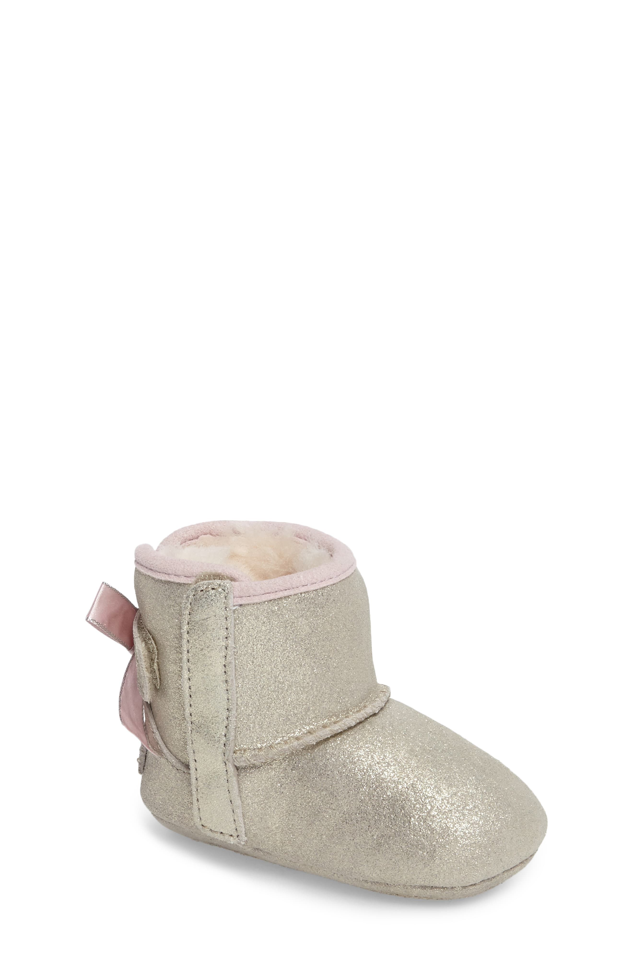 84ebb0a0a1e Infant Girl's Ugg Jesse Bow Ii Metallic Bootie, Size 0/1 M ...